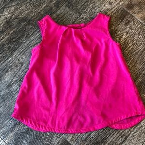 Old navy pink open back tank